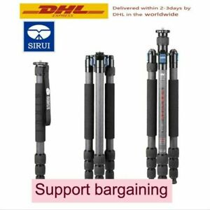 Sirui W2204 Tripod 4-Section Waterproof Carbon Fiber Tripod for Camera