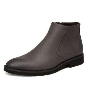 Leather Men Boots Business Dress Boots Shoes Men Ankle Boots Men Casual Shoes