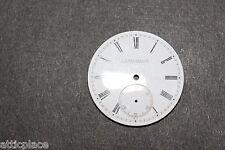 J. E. Nettleton Penetanguishene Pocket Watch Dial 38.3 mm White Enamel