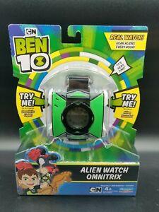 Ben 10 Alien Watch Omnitrix Cartoon Network Alien Sounds & Light - Brand New