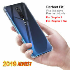 New Ultra Thin Clear Case for OnePlus 7 Pro Silicone Gel Shockproof Phone Cover