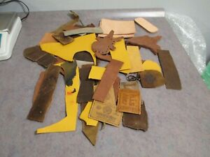 Leather Scraps from Tandy kits 13 oz most small-1 kit-FREE SHIPPING