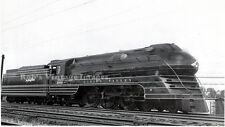 Lehigh Valley photo Railroad locomotive 2102 Bullet Streamline Steam Train  3