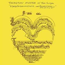 THURSTON MOORE - KLANGFARBENMELODIE   VINYL LP NEU