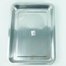 STAINLESS STEEL BAKING TRAY - 40cm x 30cm x 5cm - OVEN BAKING COOKING TRAYS