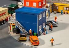 Faller 130134 - 1/87 / H0 4 Baucontainer - Blau - Neu