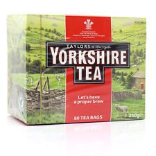 Taylors of Harrogate Yorkshire 80 Teabags 250g