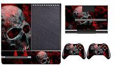 Skull 251 Vinyl Cover Skin Sticker for Xbox One & Kinect & 2 controller skins