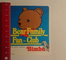 ADESIVI/Sticker: SIMBA Bear FAMILY Fan Club (21031720)