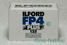 10 rolls ILFORD FP4 125 Plus 35mm 36exp B&W Film