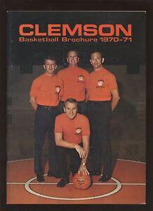 1970./1971 Clemson NCAA Basketball Yearbook EXMT+