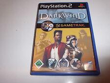 Playstation 2 ps2 playstation 2 Darkwind combat jeu sans Gametrak