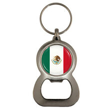 Mexican Flag Bottle Opener Keyring mexico world cup mestizo cancun Brand New