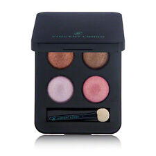 VINCENT LONGO DIAMANTE EYE SHADOW QUAD IN ROJA - BROWNS / PINKS NEW IN BOX $42