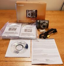Canon PowerShot A590 IS 8.0MP 4.0x Optical Zoom Lens UVGC Original Box Packaging