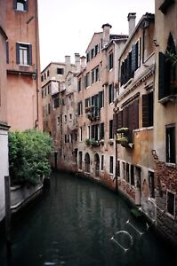 Fine Art Photograph of Winding Canal Venice Italy/3 Enlargement Sizes Available