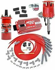 MSD Ignition 8519K AMC 290-401 Ignition System Kit Includes: Pro-Billet Distribu