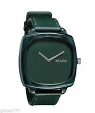 Nixon The shutter/hot stepper Women's Leather Plastic Case Watch A167-1641