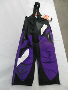 Arctiva Women's Comp Bib Black/Purple S7 Bib Size Small S 3130-0467