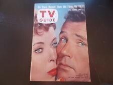 Ida Lupino, Howard Duff - TV Guide Magazine 1957