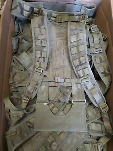 British Army Issue MTP Virtus H Yoke Webbing Harness Grade 1 Complete Daysack