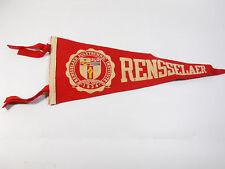 Vintage  Rensselaer Polytechnic Institute Banner Wool 70%