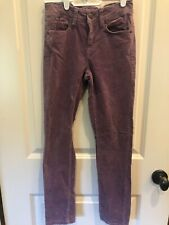 L.O.G.G. by H&M Purple Fine Cord 00004000 uroy Pants Size 10-11Y