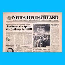 DDR Neues Deutschland April 1958 Geburtstag Hochzeit 57. 58. 59. 60. 61. 62. ZK