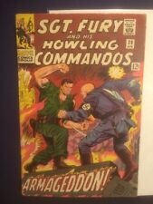 Sgt. Fury and His Howling Commandos #29 VGFN 1966 Marvel Nick Fury