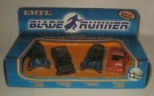 1982 Ertl Blade Runner RARE 4 Car Boxed Set 1/64 Scale MIB Unopened