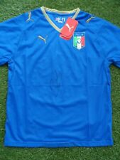 Andrea Pirlo Hand Signed Italy Home Football Shirt - Juventus, Milan Autograph