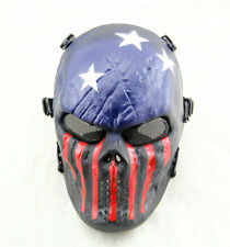 Team Leader Tactical Masks Hunting Halloween Airsoft Skull Protection Full Face