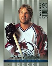 Peter Forsberg 1997-98 Donruss Studio 97 Portrait Colorado Avalanche #15 NM 8x10