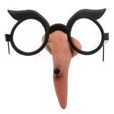 Funny Adult Witch Nose Glasses Novelty Fancy Dress Specs Halloween Hen Party
