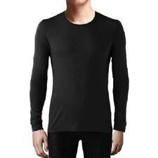 New Heat Keep Crew Neck Shirt Mens Size Large Black Weathproof Long Sleeve Nwt