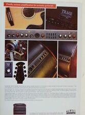 retro magazine advert 1991 TRACE ACOUSTIC