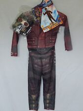 NEW Starlord Figure Guardians of the Galaxy Halloween Costume Mask Boys M 8-10