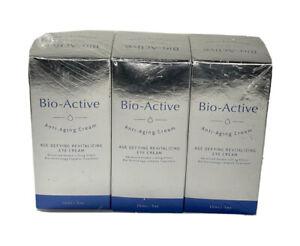 (3PK) Anti-Aging Age Defying Revitalizing Eye Cream by Bio-Active 0.5 oz