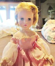 """American Character Sweet Sue girl doll 18 """" Haunted face walker Annabelle ?"""