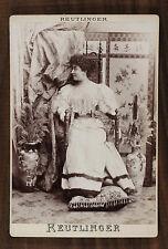 Cécile Sorel, Comtesse de Ségur, Actrice Comédie-Française, Photo Cabinet card