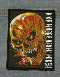 Five finger death punch sew  on patch Official merchandise metal music
