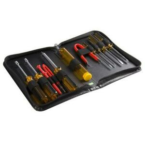 StarTech.com CTK200 11 Piece PC Computer Tool Kit with Carrying Case