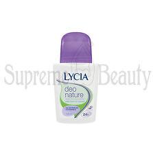 Deodorante LYCIA Roll On Deo Nature senza Sali di alluminio con Echinacea