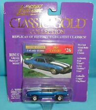 Johnny Lightning Classic Gold Collection 1969 Convertible Camaro #26 1/15,000