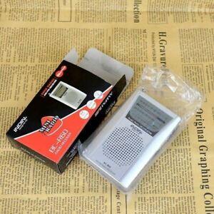 Receiver Pocket Digital Mini Radio AM/FM Universal Built in Speaker Portable