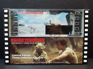 RARE Star Wars Empire Strikes Back - Imperial Attack Edition 70mm Film Cels