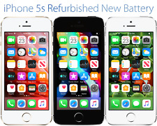 Apple iPhone 5s 16GB Factory Unlocked GSM Verizon T-Mobile Sprint Refurbished