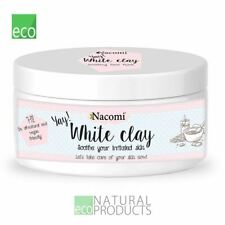 Nacomi Natural White Clay Face & Body Mask 43g