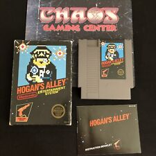 Hogan's Alley (Nintendo NES, 1985), BLACK BOX w Gold Seal, Complete CIB, Tested