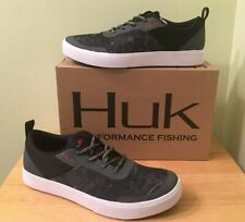 Huk Men's Mahi Lace-Up Fishing Shoes H8015200007 Hannibal-Red *FAST SHIPPING*